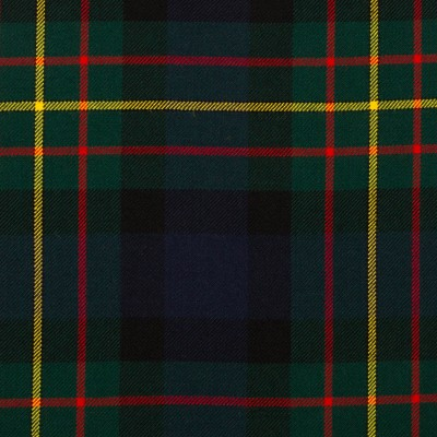 MacLaren Modern Medium Weight Tartan Fabric-Front