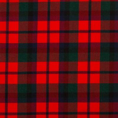 MacNaughton Modern Medium Weight Tartan Fabric-Front