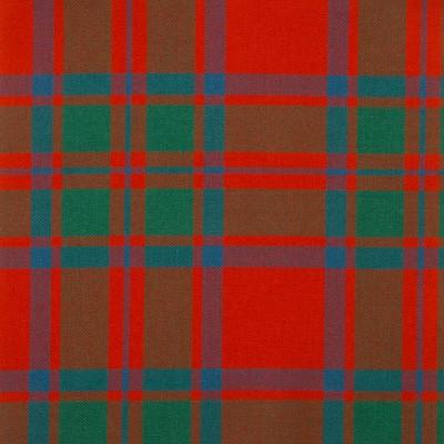 MacIntosh Clan Ancient Medium Weight Tartan Fabric-Front