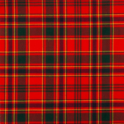 Munro Modern Medium Weight Tartan Fabric-Front