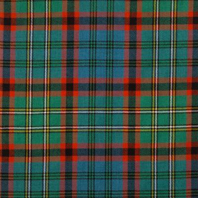 Nicolson Hunting Ancient Medium Weight Tartan Fabric-Front