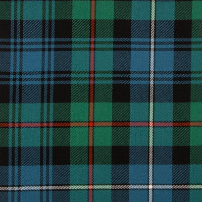 Robertson Hunting Ancient Medium Weight Tartan Fabric-Front