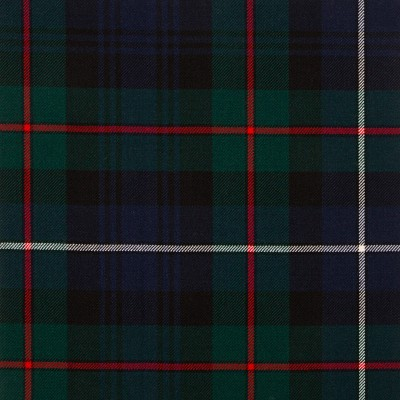 Robertson Hunting Modern Medium Weight Tartan Fabric-Front