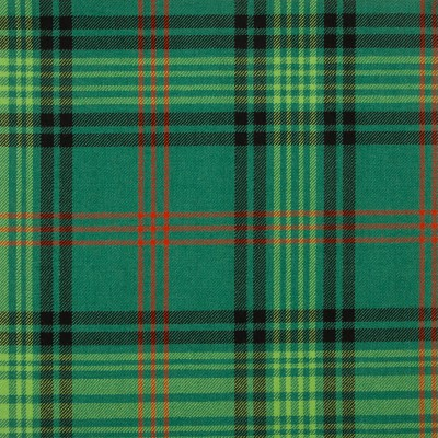 Ross Hunting Ancient Medium Weight Tartan Fabric-Front