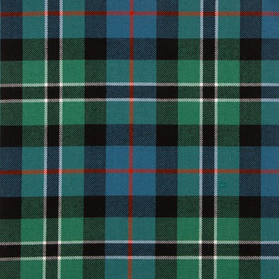 Rose Hunting Ancient Medium Weight Tartan Fabric-Front