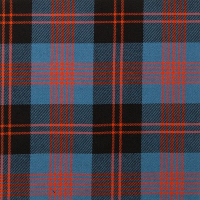 Angus Ancient Light Weight Tartan Fabric-Front