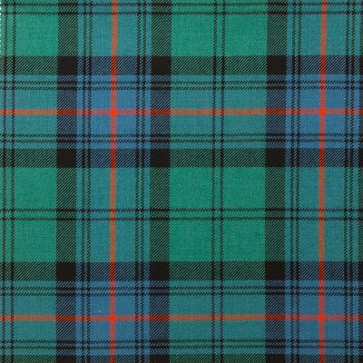 Armstrong Ancient Light Weight Tartan Fabric-Front
