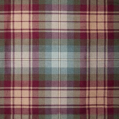 Auld Scotland Light Weight Tartan Fabric-Front