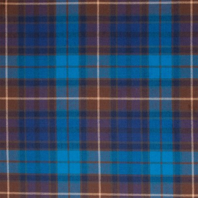 Buchanan Blue Light Weight Tartan Fabric