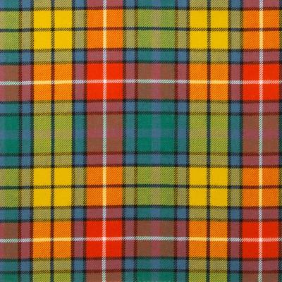 Buchanan Ancient Light Weight Tartan Fabric-Front