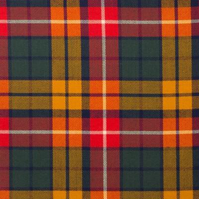 Buchanan Reproduction Light Weight Tartan Fabric-Front