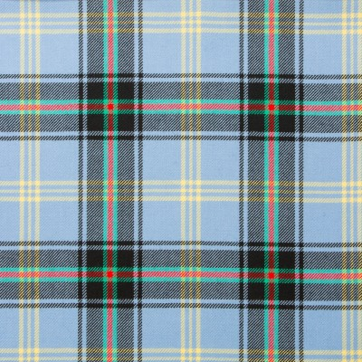 Bell of The Borders Light Weight Tartan Fabric-Front