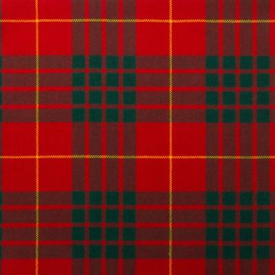 Cameron Clan Modern Light Weight Tartan Fabric-Front
