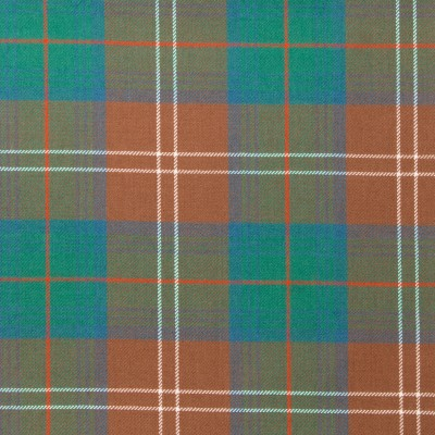 Chisholm Hunting Ancient Light Weight Tartan Fabric-Front