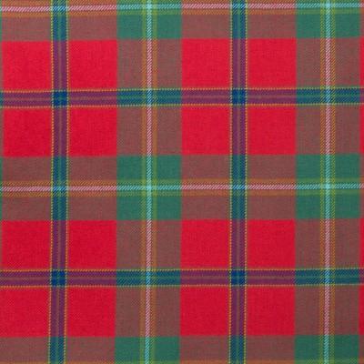 Connemara Light Weight Tartan Fabric-Front