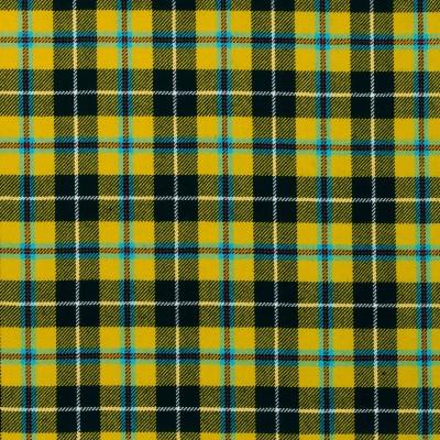 Cornish National Light Weight Tartan Fabric-Front