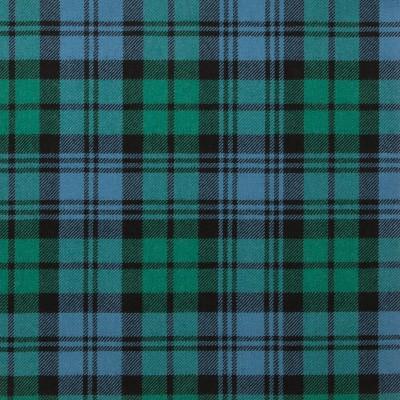 Campbell Clan Ancient Light Weight Tartan Fabric-Front