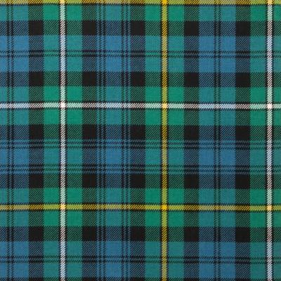 Campbell of Argyll Ancient Light Weight Tartan Fabric-Front