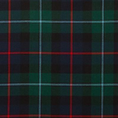 Campbell of Cawdor Modern Light Weight Tartan Fabric-Front