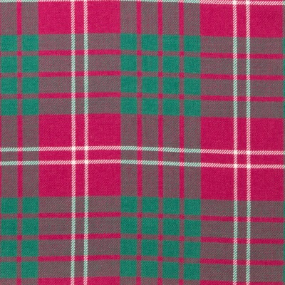 Crawford Ancient Light Weight Tartan Fabric-Front