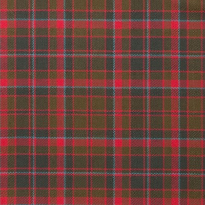 Cumming Hunting Weathered Light Weight Tartan Fabric-Front