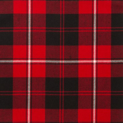 Cunningham Modern Light Weight Tartan Fabric-Front