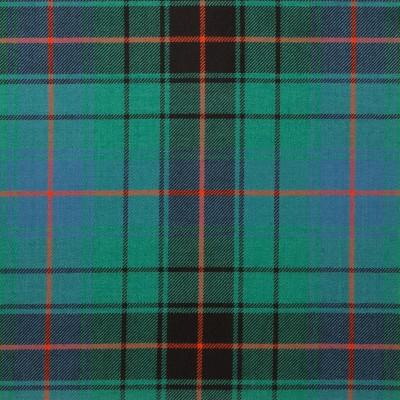 Davidson Clan Ancient Light Weight Tartan Fabric-Front