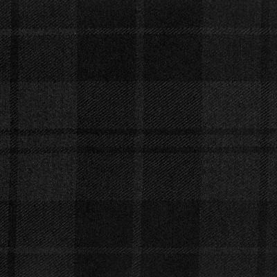 Douglas Dark Light Weight Tartan Fabric-Front