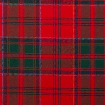Drummond Clan Modern Light Weight Tartan Fabric-Front