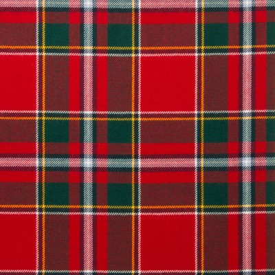 Drummond of Perth Modern Light Weight Tartan Fabric-Front