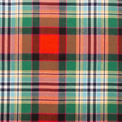 Dundee Old Ancient Light Weight Tartan Fabric-Front