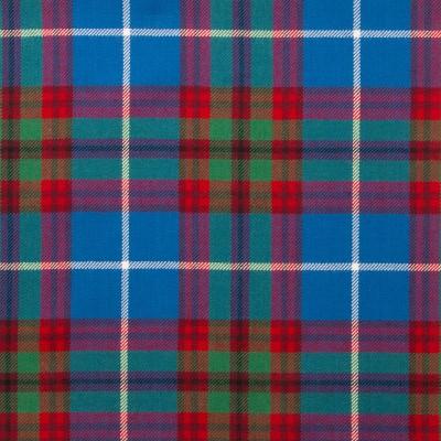Edinburgh Light Weight Tartan Fabric-Front