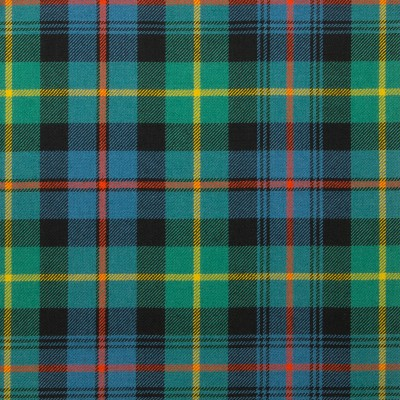 Farquharson Ancient Light Weight Tartan Fabric-Front