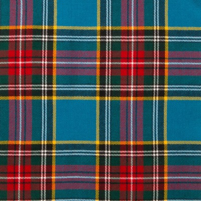 MacBeth Modern Light Weight Tartan Fabric-Front