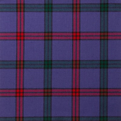 Montgomery Modern Light Weight Tartan Fabric-Front