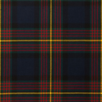Muir Modern Light Weight Tartan Fabric-Front