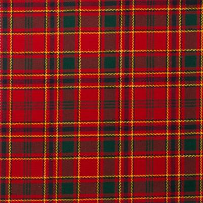 Munro Modern Light Weight Tartan Fabric-Front