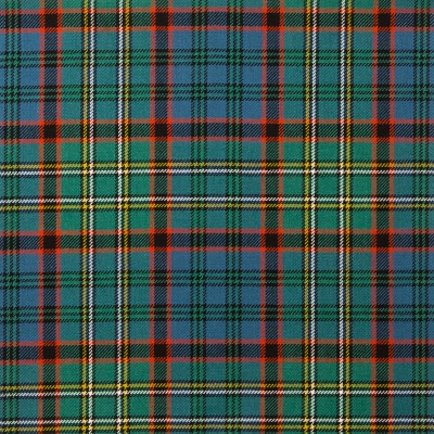 Nicolson Hunting Ancient Light Weight Tartan Fabric-Front