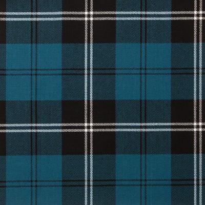 Ramsay Blue Ancient Light Weight Tartan Fabric-Front