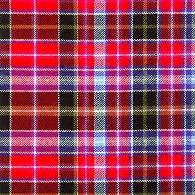 Aberdeen Heavy Weight Tartan Fabric-Front