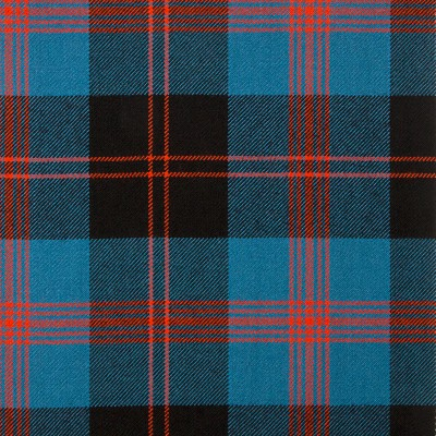 Angus Ancient Heavy Weight Tartan Fabric-Front