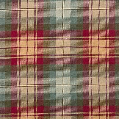 Auld Scotland Heavy Weight Tartan Fabric-Front