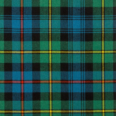 Baillie Ancient Heavy Weight Tartan Fabric-Front