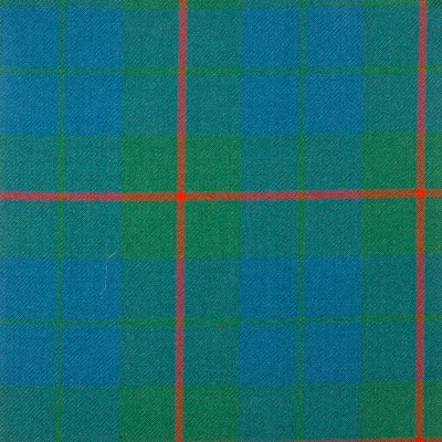 Barclay Hunting Ancient Heavy Weight Tartan Fabric-Front