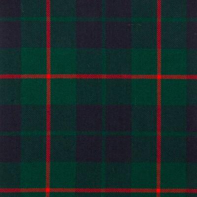 Barclay Hunting Modern Heavy Weight Tartan Fabric-Front