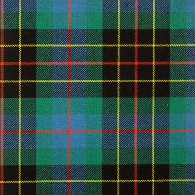 Brodie Hunting Ancient Heavy Weight Tartan Fabric-Front