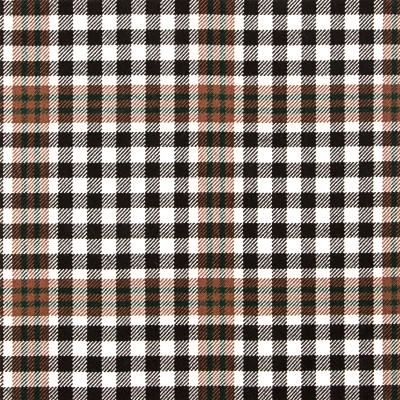 Burns Check Heavy Weight Tartan Fabric-Front