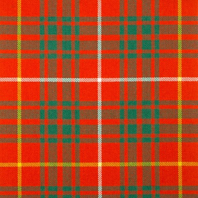 Bruce Ancient Heavy Weight Tartan Fabric-Front