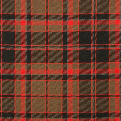Buchan Weathered Heavy Weight Tartan Fabric-Front