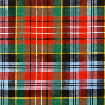 Caledonia Ancient Heavy Weight Tartan Fabric-Front